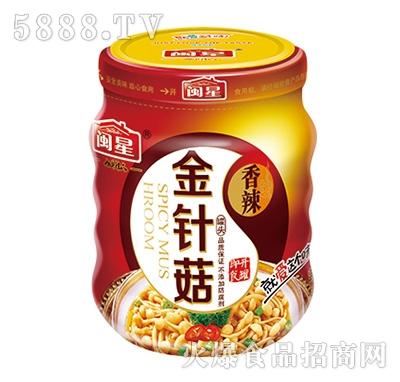 闽星香辣金针菇170g产品图