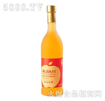 750ml蜂蜜金冠苹果醋饮料