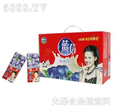 顺有蓝莓枸杞复合蛋白饮品箱装