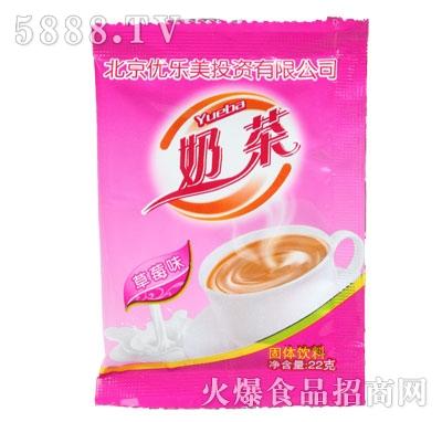 优乐美奶茶草莓味22克