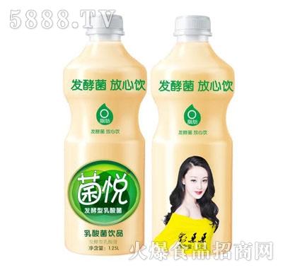 菌悦发酵型乳酸菌饮品1.25L