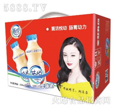 菌悦乳酸菌饮品338mlx12瓶