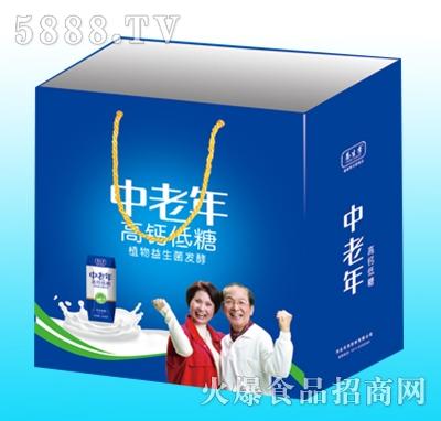 养生季中老年高钙低糖发酵饮料手提袋