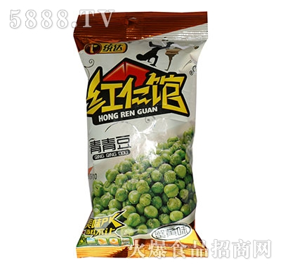 红仁馆36克青青豆蟹黄味