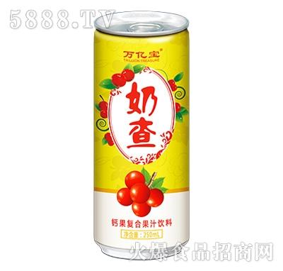 万亿宝奶查钙果复合果汁饮料250ml