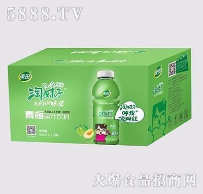 康田淘妹子青梅果汁饮料200mlx15瓶