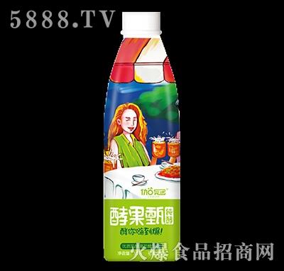 1.5升伽冠酵果甄发酵饮料芒果口味