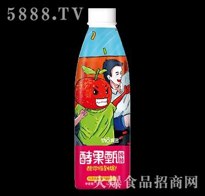 1.5升伽冠酵果甄发酵饮料山楂口味