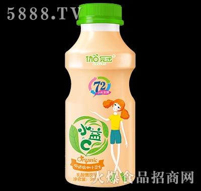 360ml伽冠乳酸菌饮品瓶装