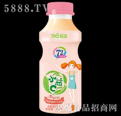 360ml伽冠乳酸菌饮品瓶