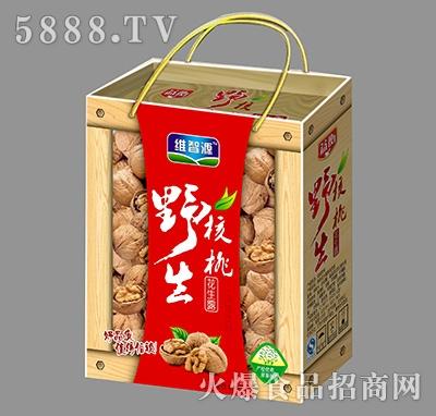 维智源野生核桃花生露礼盒