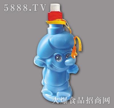 蓝色小背壶饮料330ml