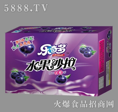 乐奇多水果沙拉蓝莓味箱装