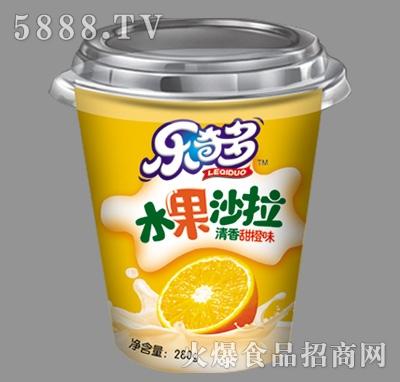 乐奇多水果沙拉甜橙味280g