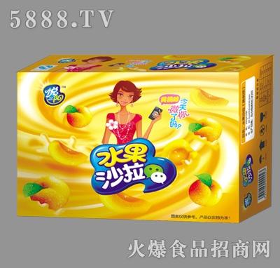 悦阳黄桃味水果沙拉箱装