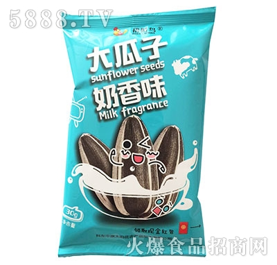 招财鸟大瓜子奶香味30g