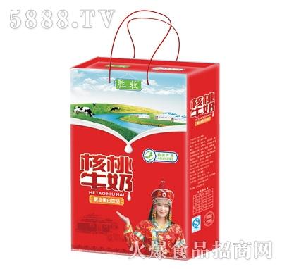 胜牧桃核牛奶扁礼盒