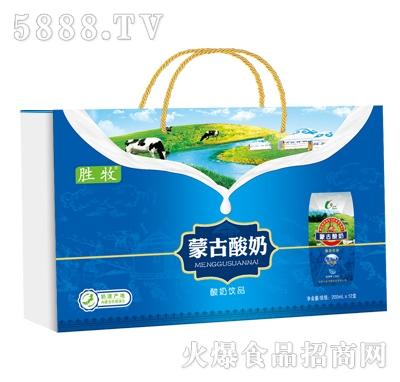 胜牧蒙古酸奶木盒装(200ml钻石包)