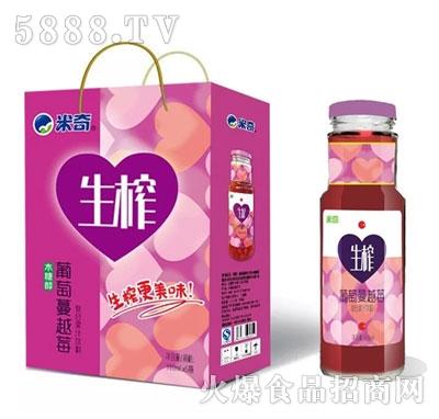 米奇葡萄蔓越莓复合果汁饮料310ml×6瓶