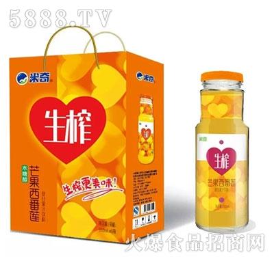 米奇芒果西番莲复合果汁饮料310ml×6瓶