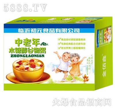 初元食疗中老年木糖醇谷物粥箱装
