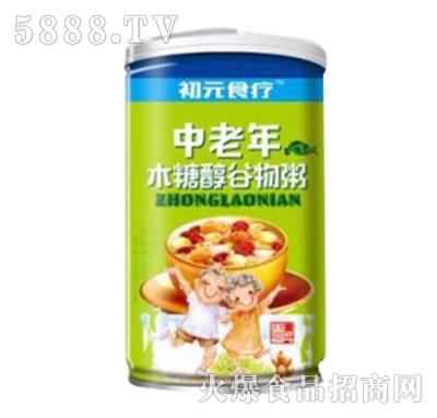 初元食疗中老年木糖醇谷物粥