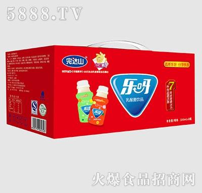 完达山乐呀乳酸菌饮品330mlx8瓶箱