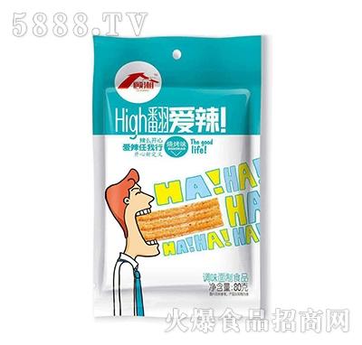 顾湘high翻爱辣辣条烧烤味80克