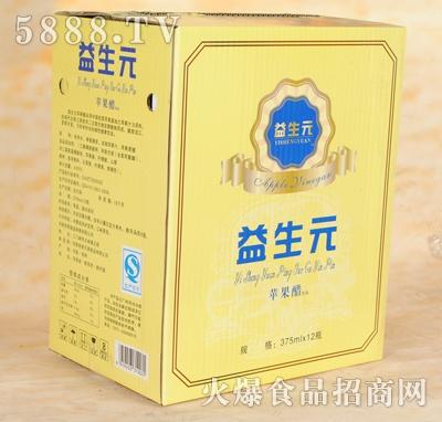 益生元苹果醋375mlx12瓶