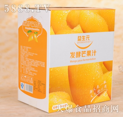 益生元发酵芒果汁1.5Lx6