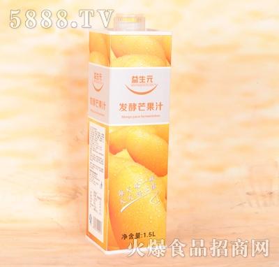 益生元发酵芒果汁1.5L