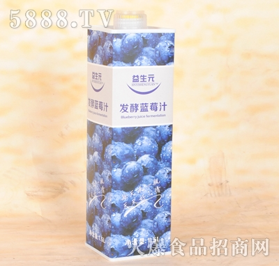 益生元发酵蓝莓汁1.5L