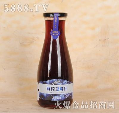 益生元鲜榨蓝莓汁