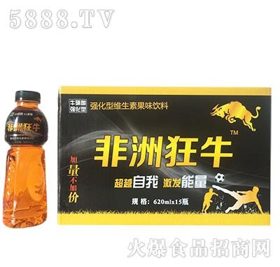 非洲狂牛强化型维生素果味饮料620mlx15瓶