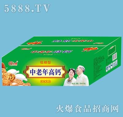 欣八喜中老年高钙饮品200mlx18包