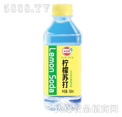 友利友柠檬苏打350ml