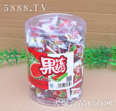 果冻西瓜味泡泡糖盒装
