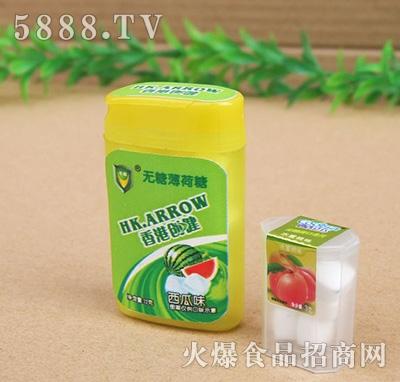 香港创健无糖薄荷糖西瓜味