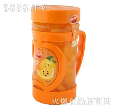 480g清新果诱蜜桔罐头