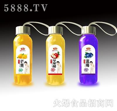 伊思源芒果汁+苹果醋+蓝莓汁
