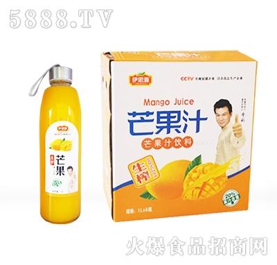 伊思源芒果汁1Lx6箱