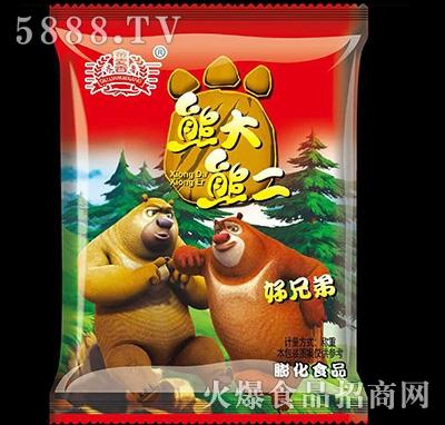 金麦香熊大熊二膨化食品散称