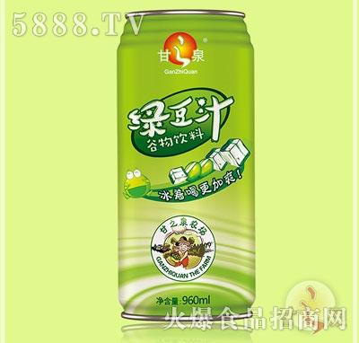 甘之泉�G豆汁�料960ml