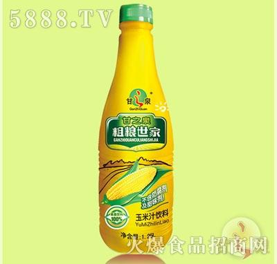 甘之泉玉米汁�料