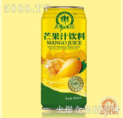 美人豹芒果汁�料960ml