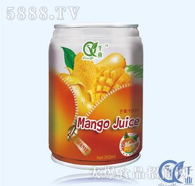 千�I芒果汁�料250ml