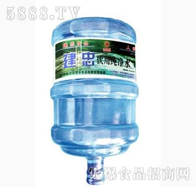建忠牌桶装纯净水