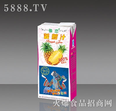 傣恋菠萝汁内盒