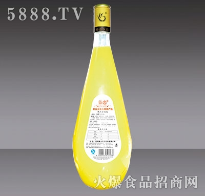 1.5L傣恋菠萝汁背标