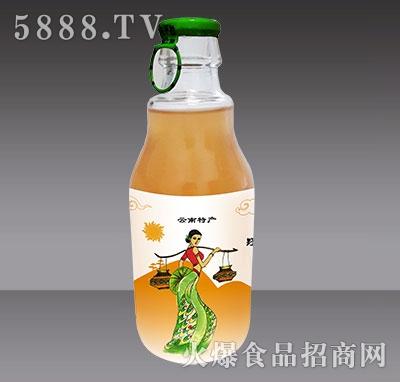 240ml傣恋酸角汁侧面